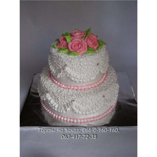 свадебные бисквитно кремовые торты фото
