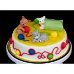 ДТ 069 Торт с котятами