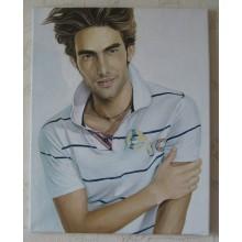 КР 2  Портрет маслом на холсте формат А3