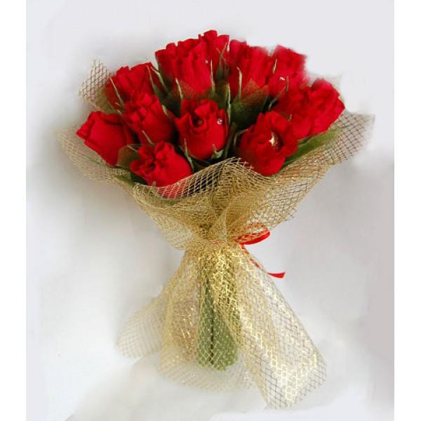 Как сделать букет из конфет розы своими руками