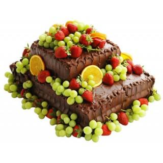 ФРТ 8 Торт двухярусный с фруктами