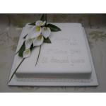 СВ 084 Торт белый квадратный с калами