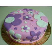 """АТ 13 Торт со скидкой """"Торт цветочки"""""""