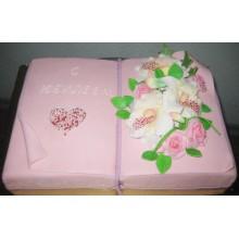 АТ 6 Торт со скидкой в виде книги
