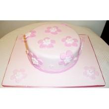 АТ 7 Торт со скидкой нежно-розовый