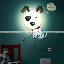 И-4 Детский ночник Собака DYI Lamps