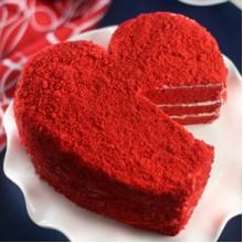 ПР 218 Торт красное сердце