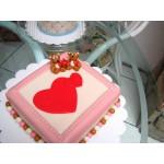 РМ 103 Торт влюбленные сердца