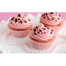 Капкейки нежно-розовые для девушек
