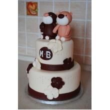 ДТ 106 Торт двухярустный Медвежата