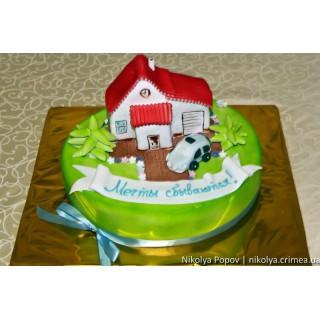 ДТ 233 Торт с домиком