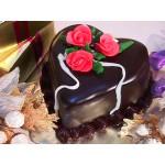 РМ 160 Торт шоколадный с розами