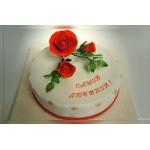 РМ 164 Торт с  красивой розой