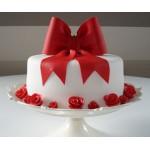 РМ 036 Торт с красным бантом