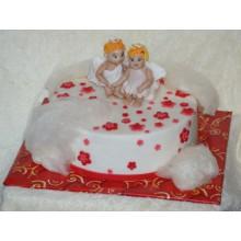 РМ 031 Торт с ангелочками