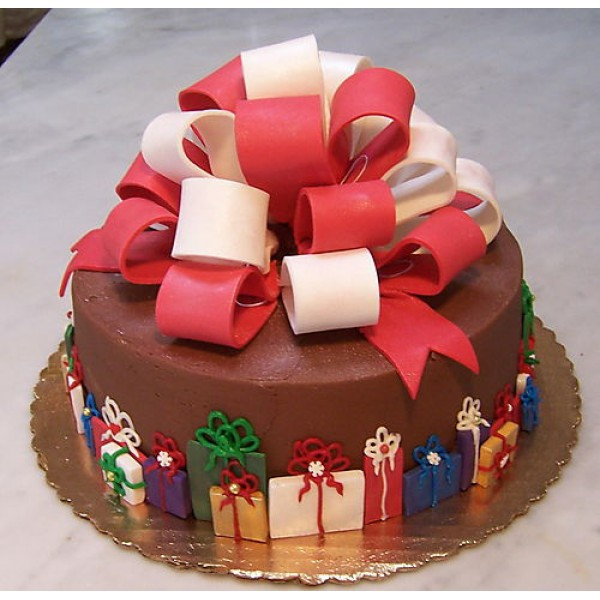 Торт на рождество своими руками