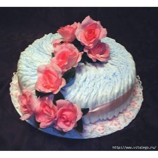 Пошаговая Инструкция Изготовления Торта Из Памперсов