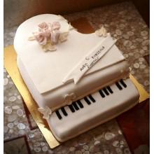ПР 036 Торт рояль (белый)
