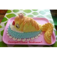 ПР 048 Торт рыбка