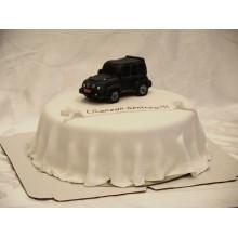 ПР 049 Торт крутая черная машина
