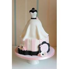 СВ 111 Торт свадебное платье