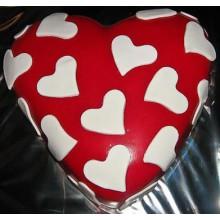 ПР 012 Торт в форме сердца