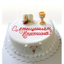 ПР 019 Торт для крестин