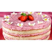 ДМ 001 Домашний клубничный торт