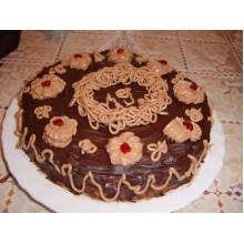 ДМ 014 Торт шоколадный с кремом