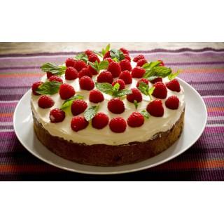ДМ 021 Торт малиновый