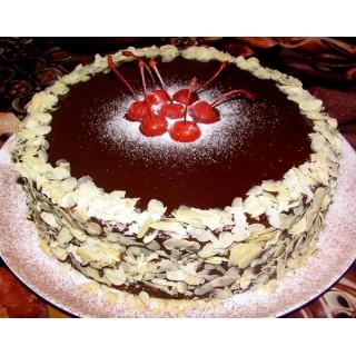 ДМ 022 Торт шоколадный с вишенками
