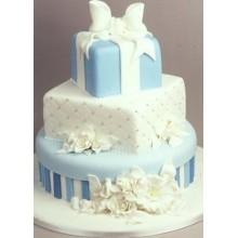 СВ 060 Торт свадебный в форме подарка