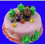 ДТ 020 Торт - Маша и медведь