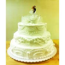 СВ 006 Торт свадебный с фигурками