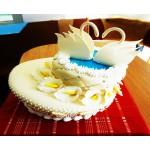 СВ 011 Торт свадебный с лебедями