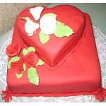СВ 026 Торт в форме сердца