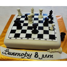 КП 010 Торт шахмат