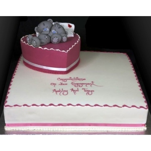 Торт на заказ ко дню свадьбы