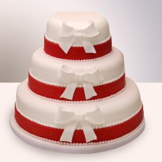 СВ 084 Торт трехярусстный с бантами
