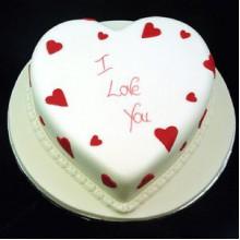 РМ 010Торт сердце i love you