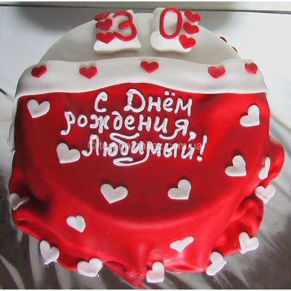 Картинки тортов с днем рождения для любимого