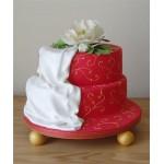 СВ 075 Торт красно-белый