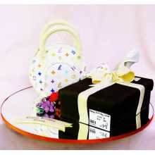 РМ 011 Торт сумка Луи Витон и подарок