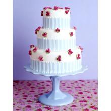 СВ 493 Торт нежный с цветочками