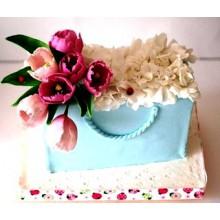 РМ 02 Торт тюльпаны в подарок