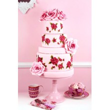 СВ 741 Торт цветочная сказка
