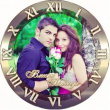 ЧС 1 Часы настенные с вашей фотографией или принтом. Печать фото на часах