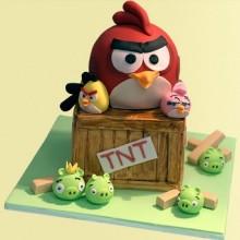Торт Angry Birds (3054)