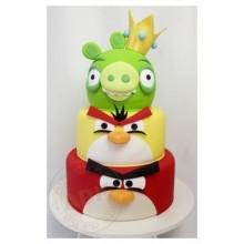 Торт Angry Birds (3055)