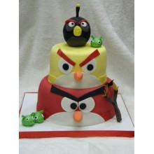 Торт Angry Birds (3056)
